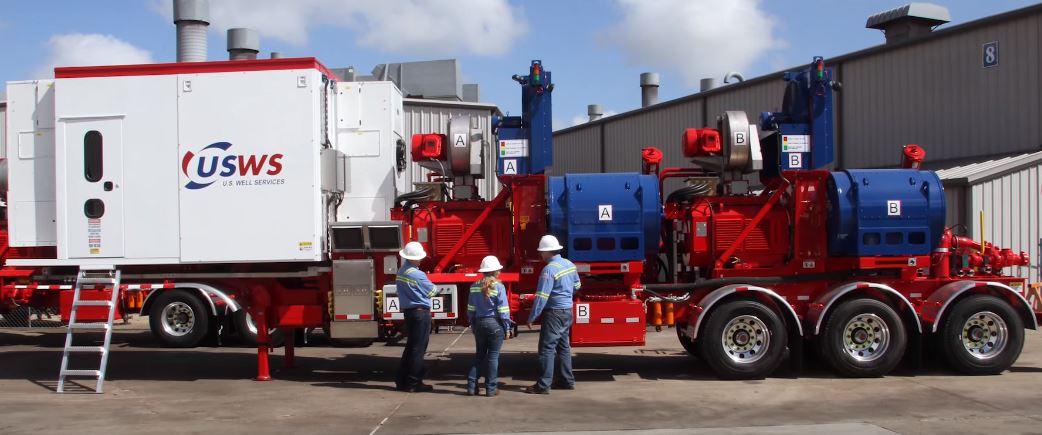 U S  Well Services Finalizes Third Electric Frac Fleet