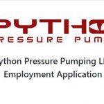 PYTHON PRESSURE PUMPING LLC