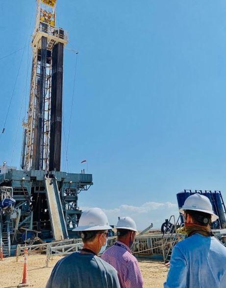 texas oilfield drilling